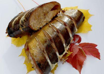 karsti kūpināta Sviesta zivs
